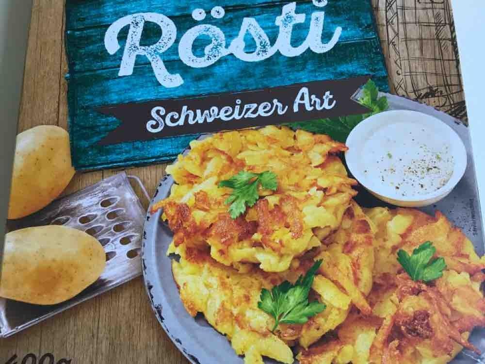Rösti Schweizer Art , Kartoffeln  von Harmu | Hochgeladen von: Harmu