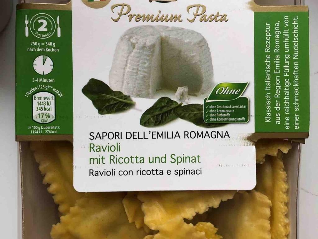 Ravioli, mit Ricotta und Spinat von JNSchuermann | Hochgeladen von: JNSchuermann