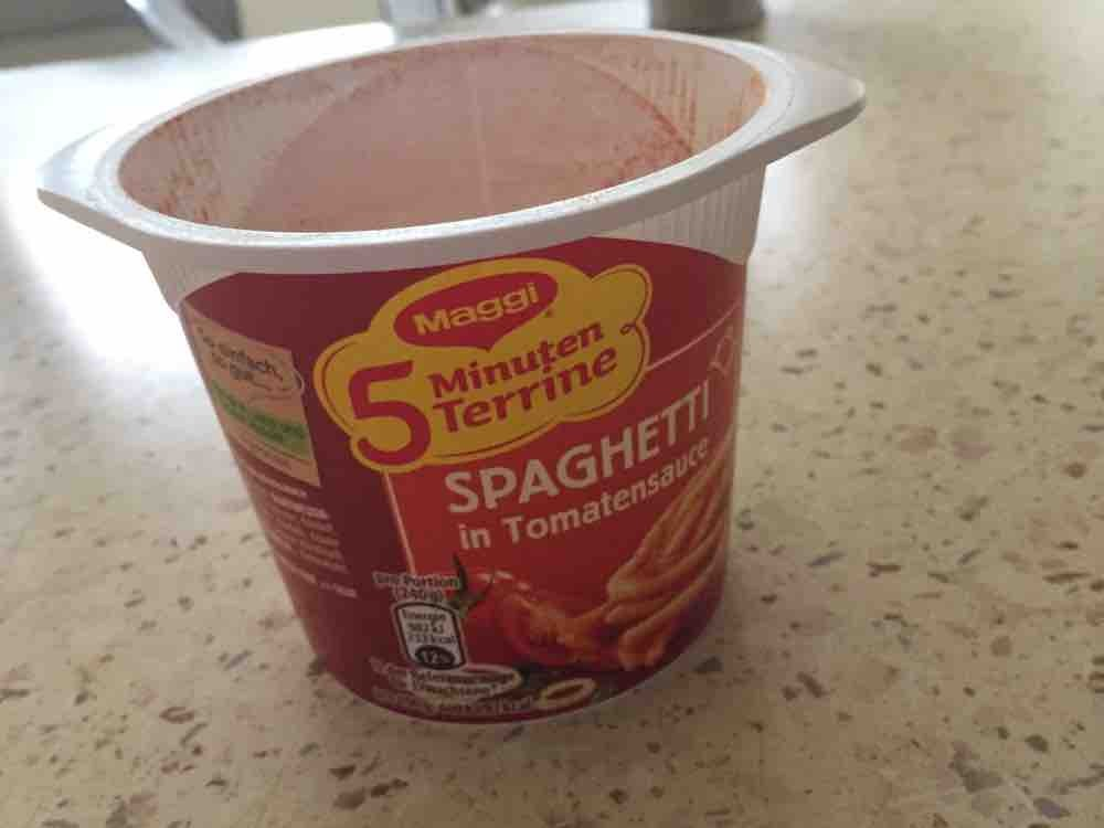 Spaghetti in Tomatensauce, 5 Minuten Terrine von berlinfibi   Hochgeladen von: berlinfibi
