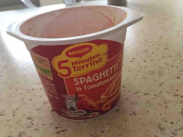 Spaghetti in Tomatensauce, 5 Minuten Terrine von berlinfibi | Hochgeladen von: berlinfibi