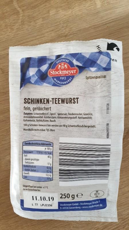 Schinken-Teewurst von jone84   Hochgeladen von: jone84