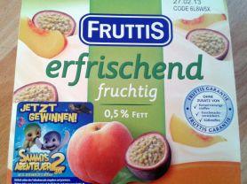 Fruttis Fruchtjoghurt 0,2% Fett, Pfirsich Maracuja   Hochgeladen von: greif