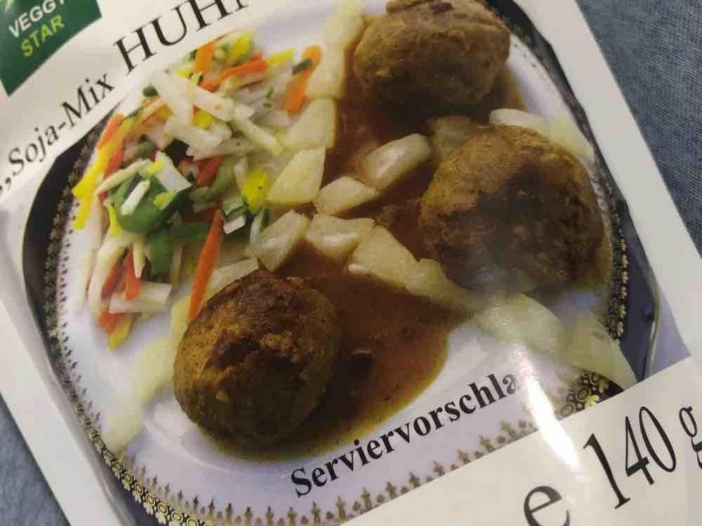 Soja-Mix Huhn-Geschmack , vegan/ 140 g Packung OHNE 250 ml Wasser  von Bettuey   Hochgeladen von: Bettuey