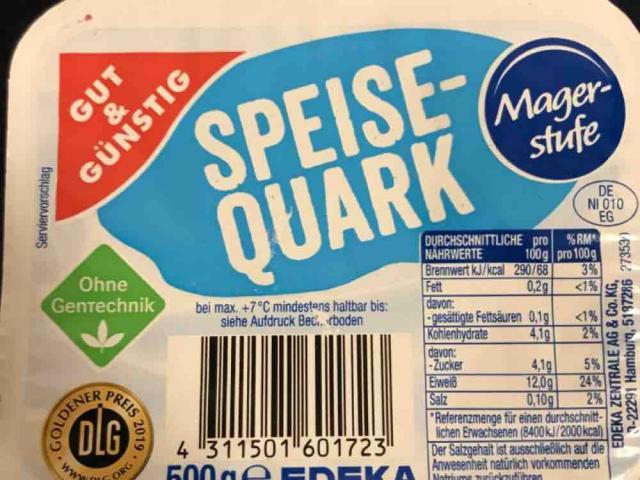 Speisequark, Magerstufe von hmats37   Hochgeladen von: hmats37