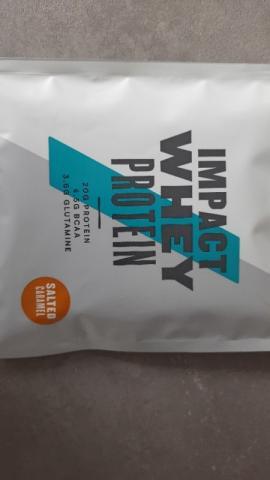 Impact Whey Protein, Salted Caramel von Dineline88   Hochgeladen von: Dineline88