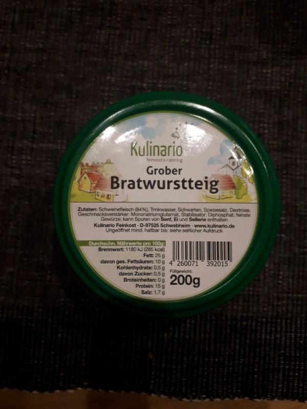 Bratwurstteig, Grober von numrollen | Hochgeladen von: numrollen