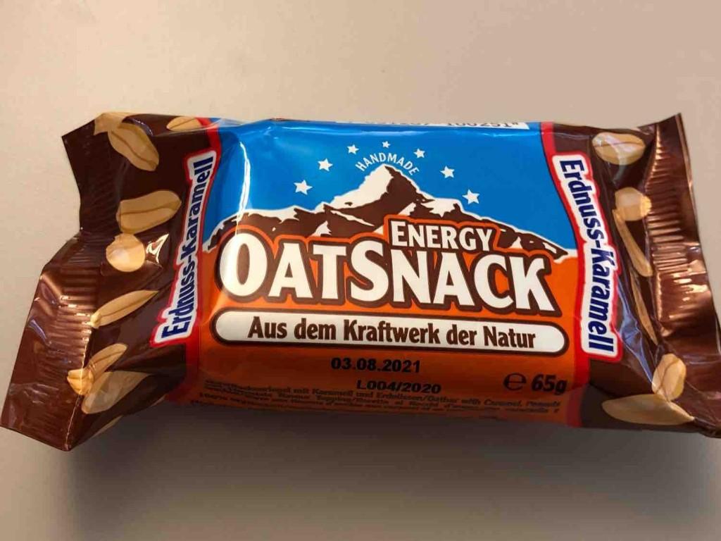 Energy Oat Snack Erdnuss-Karamell von jannebel | Hochgeladen von: jannebel
