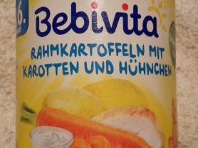 Bebivita Rahmkartoffeln mit Karotten und Hühnchen, Kartoffel | Hochgeladen von: Enomis62