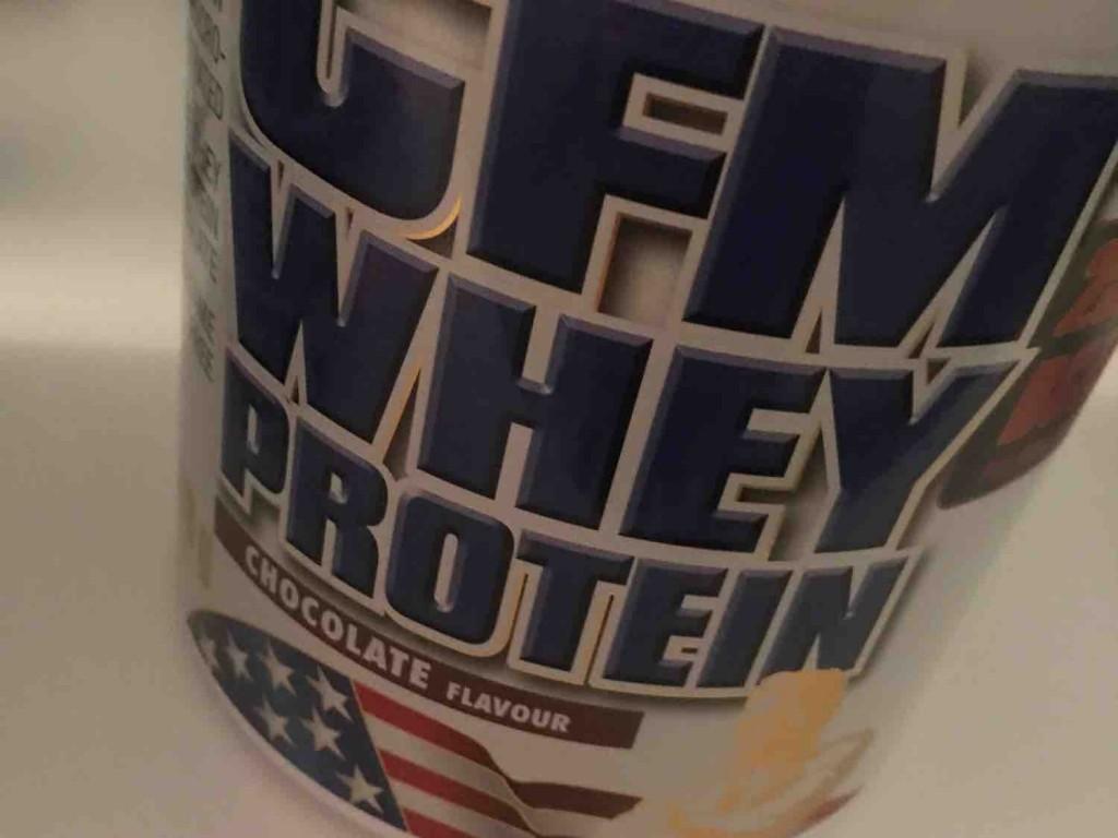 CFM Whey Protein Chocolate von cecilebenz   Hochgeladen von: cecilebenz