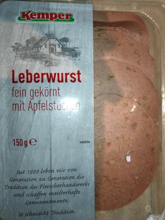 Leberwurst, fein gekörnt mit Apfelstücken von slhh1977 | Hochgeladen von: slhh1977