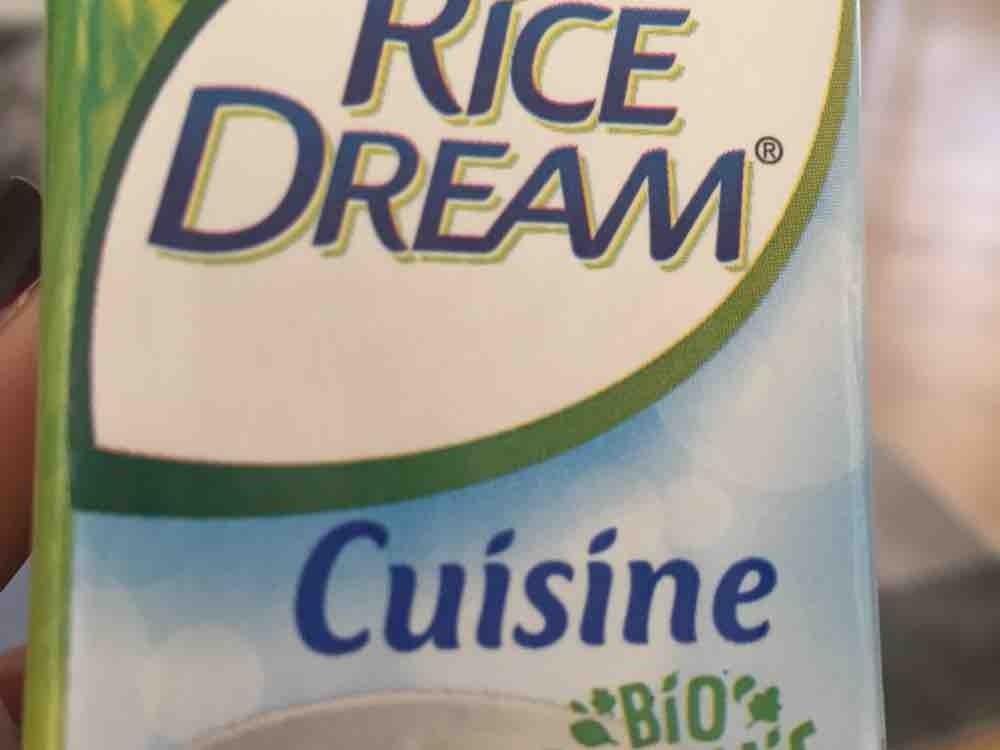 Rice Dream, Sahne-Ersatz auf Reisbasis von Barbara1973   Hochgeladen von: Barbara1973