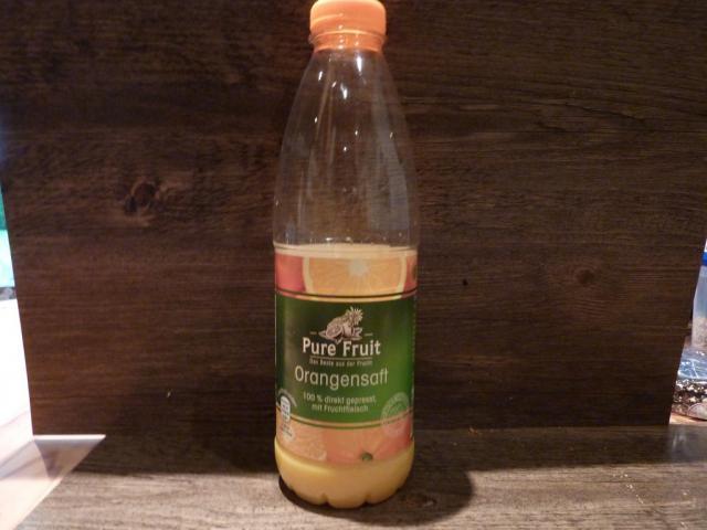 Direktsaft Pure Fruit, Orange | Hochgeladen von: Schlickwurm