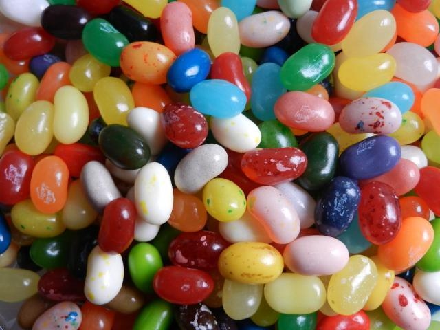 Jelly Belly Beans, Alle Sorten   Hochgeladen von: maeuseturm