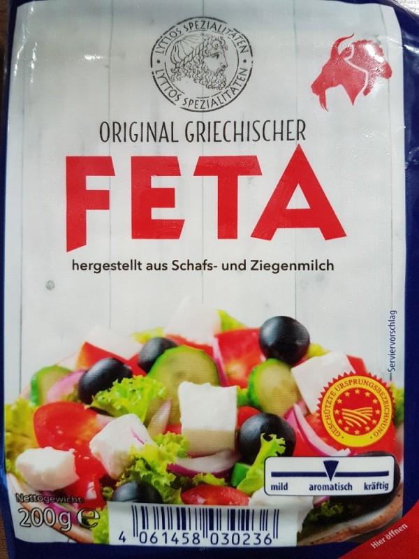 Feta Käse aus Schafs- u. Ziegenmilch (Aldi) von berit04   Hochgeladen von: berit04