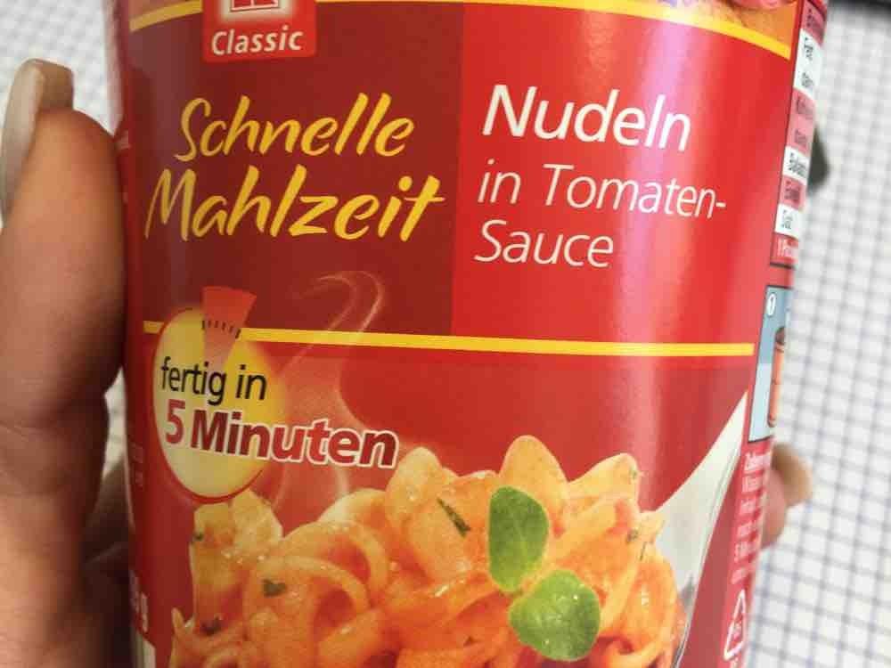 Schnelle Mahlzeit, Nudeln in Tomaten-Sauce von YoungLess   Hochgeladen von: YoungLess