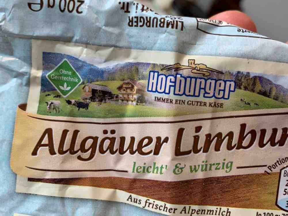Allgäuer Limburger , 19% Fett absolut von MichaelausSiegen | Hochgeladen von: MichaelausSiegen
