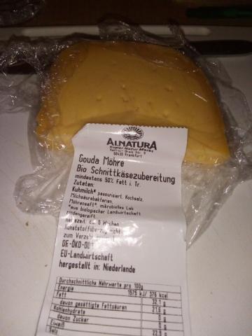 Gouda Möhre, Bio Schnittkäsezubereitung von Rundumdieuhrmami | Hochgeladen von: Rundumdieuhrmami