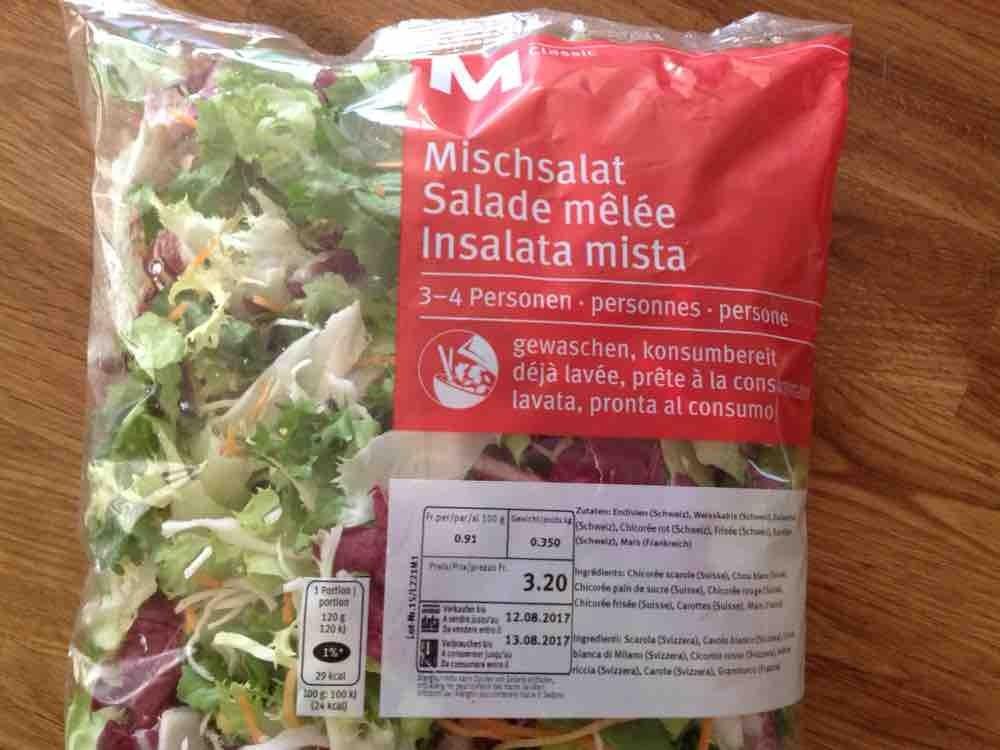 Mischsalat M-Classic, Migros, Salat von missmolly411 | Hochgeladen von: missmolly411