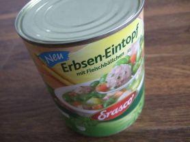 Erbseneintopf mit Fleischbällchen | Hochgeladen von: HJPhilippi