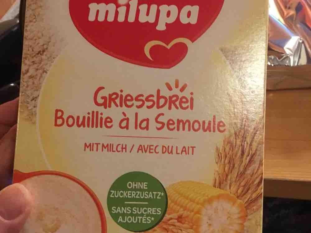 Milchbrei, Gries von madeleinewyss297   Hochgeladen von: madeleinewyss297