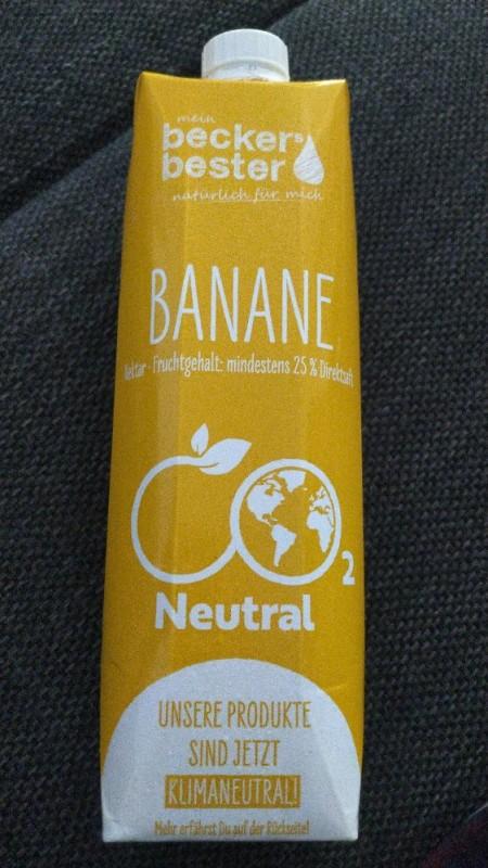 Banane, mindestens 25% Direktsaft von Svennemann   Hochgeladen von: Svennemann