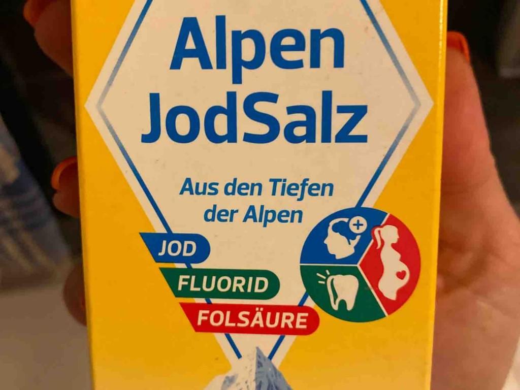 Alpen JodSalz, + Jod, + Florid, + Folsäure von nikiberlin   Hochgeladen von: nikiberlin