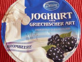 Joghurt nach griechischer Art, Brombeere | Hochgeladen von: nikxname