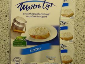 Frischkäse Natur - Maitre Lys - 60% Fett i.Tr. (Aldi) | Hochgeladen von: Evelyn968