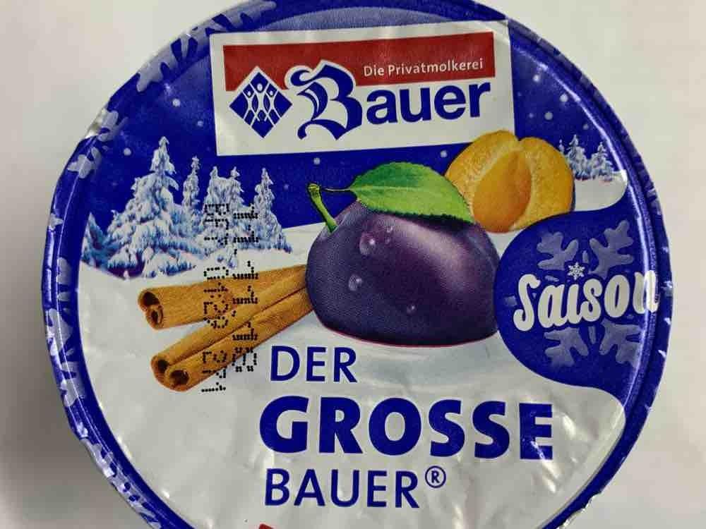 Der grosse Bauer Joghurt Pflaume- Zimt von Yve1974 | Hochgeladen von: Yve1974