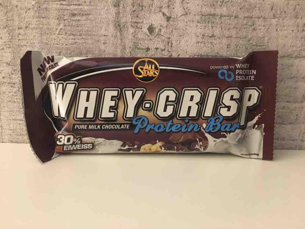 Whey-Crisp Protein Bar , Pure Milk Chocolate von andreasfoehling965 | Hochgeladen von: andreasfoehling965