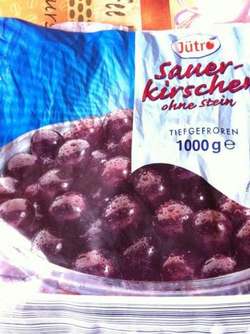 Sauerkirschen ohne Stein, mit Fruchtzucker, tiefgefroren   Hochgeladen von: Chivana