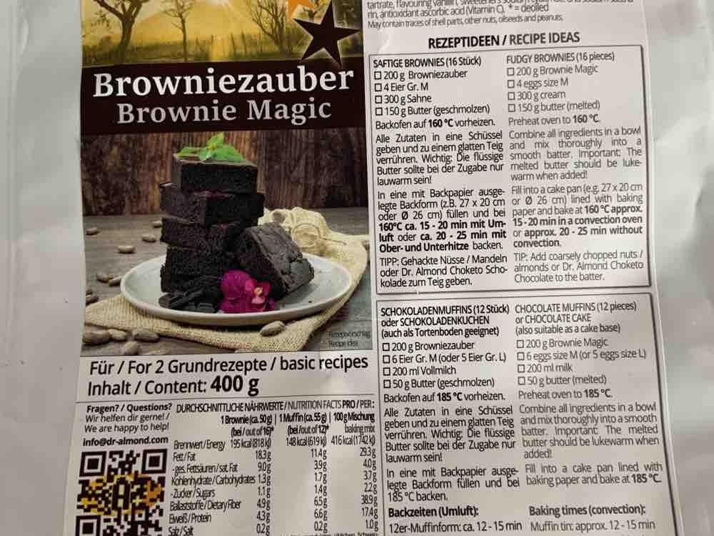Browniezauber, als Muffin Zubereitung von andi1992 | Hochgeladen von: andi1992