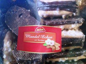 Mandel-Ecken mit Marzipan   Hochgeladen von: Fledermäuschen
