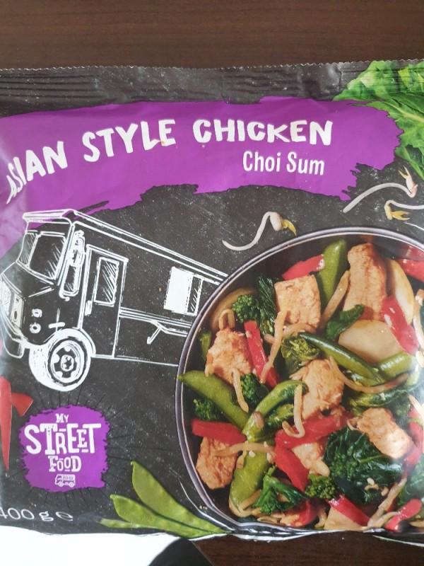 Asian Style Chicken, Choi Sum von sophia1990983 | Hochgeladen von: sophia1990983