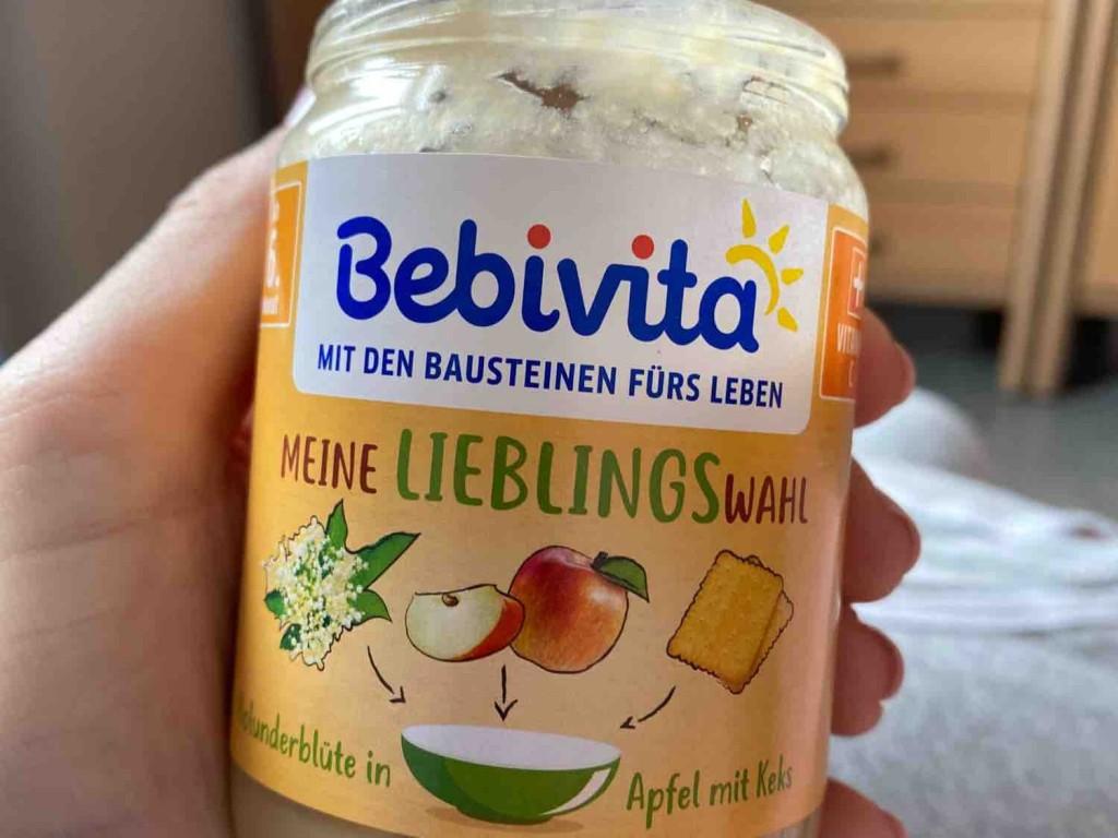 Bebivita (Holunderblüte in Apfel mit Keks) von svhelli | Hochgeladen von: svhelli