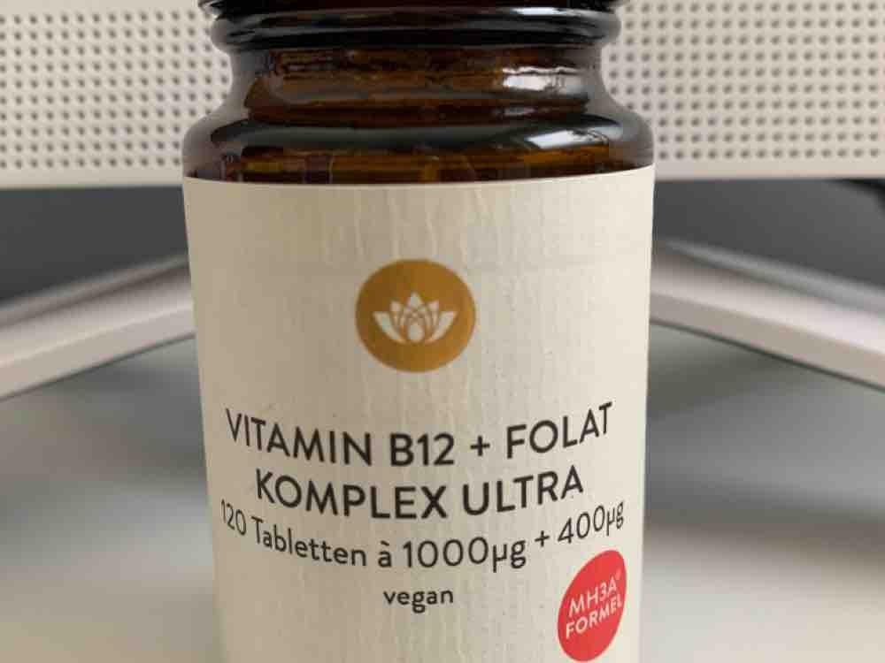 Vitamin B12 + Folat Komplex Ultra, 120 Tabletten à 1000?g + 400?g vegan von samoa | Hochgeladen von: samoa