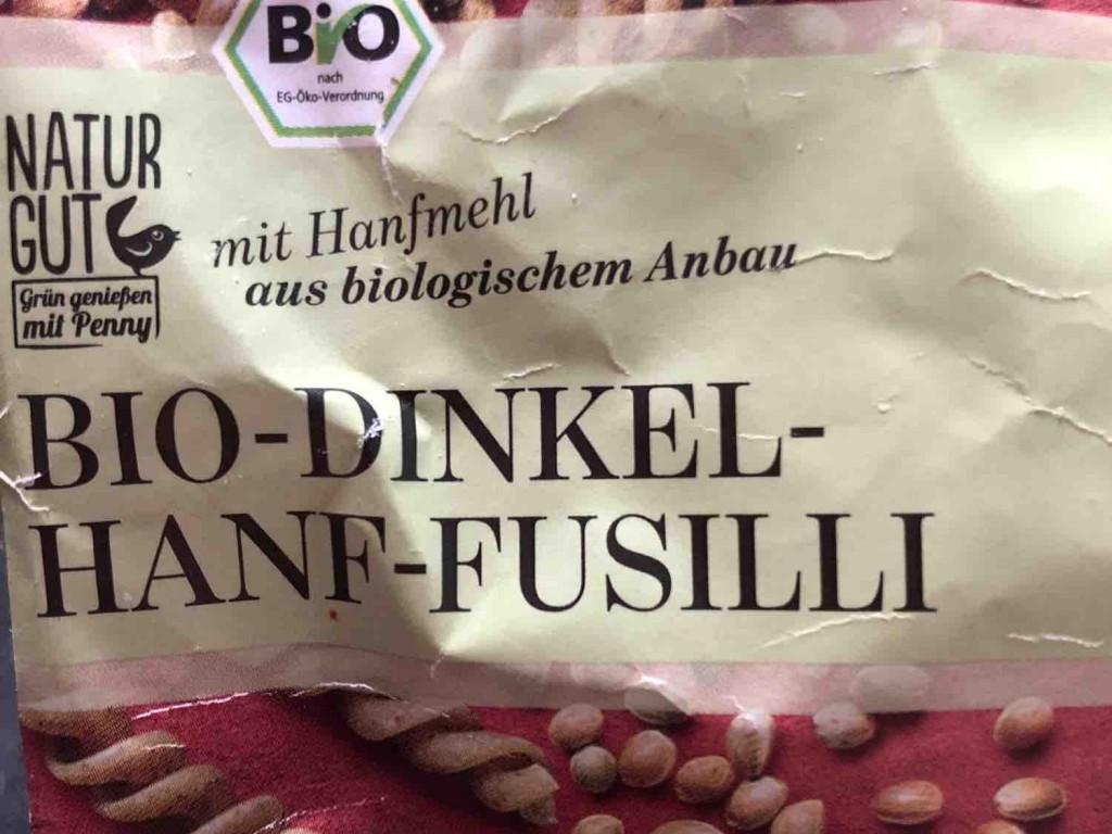 Bio-Dinkel-Hanf-Fusilli  von Sternenzauber | Hochgeladen von: Sternenzauber