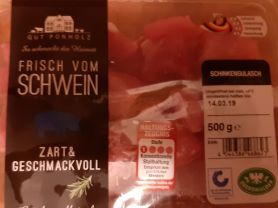 Schinkengulasch, Schweinefleisch   Hochgeladen von: Sabine34Berlin