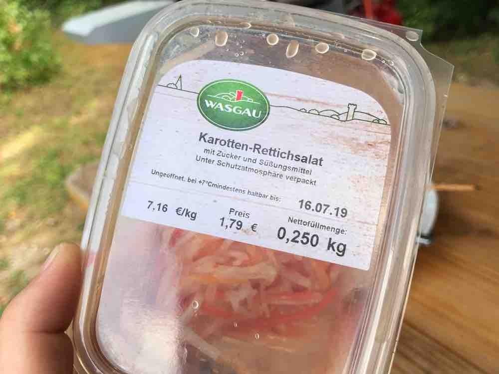 Karotten- Rettichsalat von atreyu88 | Hochgeladen von: atreyu88