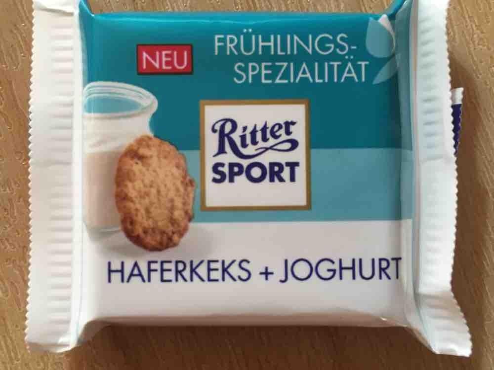 Ritter Sport, Haferkeks + Joghurt von alexandra.habermeier | Hochgeladen von: alexandra.habermeier