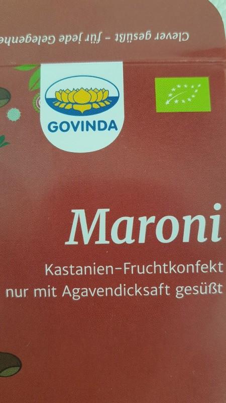 Maroni-Konfekt von Heidelbeerchen | Hochgeladen von: Heidelbeerchen
