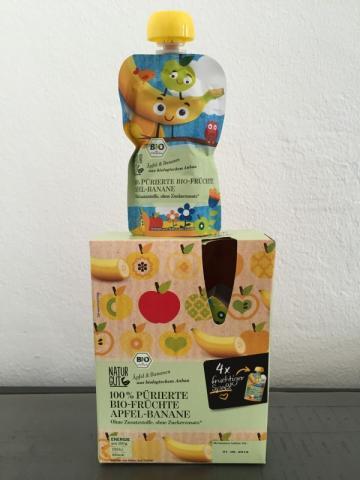 100% Pürierte Bio-Früchte, Apfel-Banane | Hochgeladen von: Lars Klug