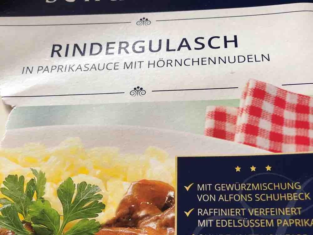 Rindergulasch in Paprikasauce mit Hörnchennudeln, Gulasch von roborowski   Hochgeladen von: roborowski