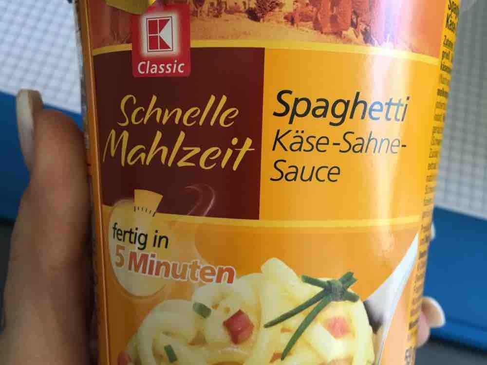 Spaghetti Käse-Sahnesauce von YoungLess | Hochgeladen von: YoungLess