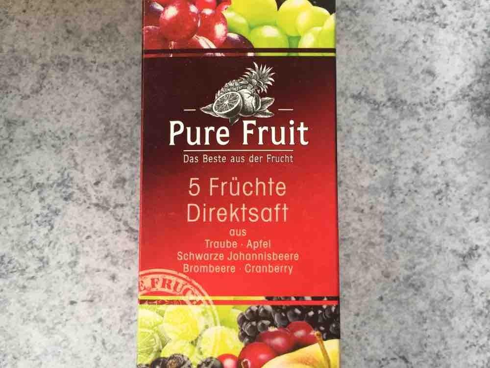 Pure Fruit 5  Frchte Direktsaft von jennyrohlfs338   Hochgeladen von: jennyrohlfs338