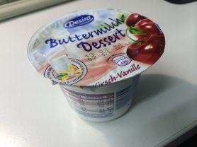 Buttermilch-Dessert, Kirsch-Vanille   Hochgeladen von: puscheline