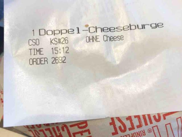 Double Cheeseburger Schweiz von giovanniz51 | Hochgeladen von: giovanniz51