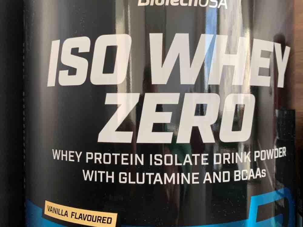 ISO Whey Zero, Protein Isolate Vanille von Agostino | Hochgeladen von: Agostino