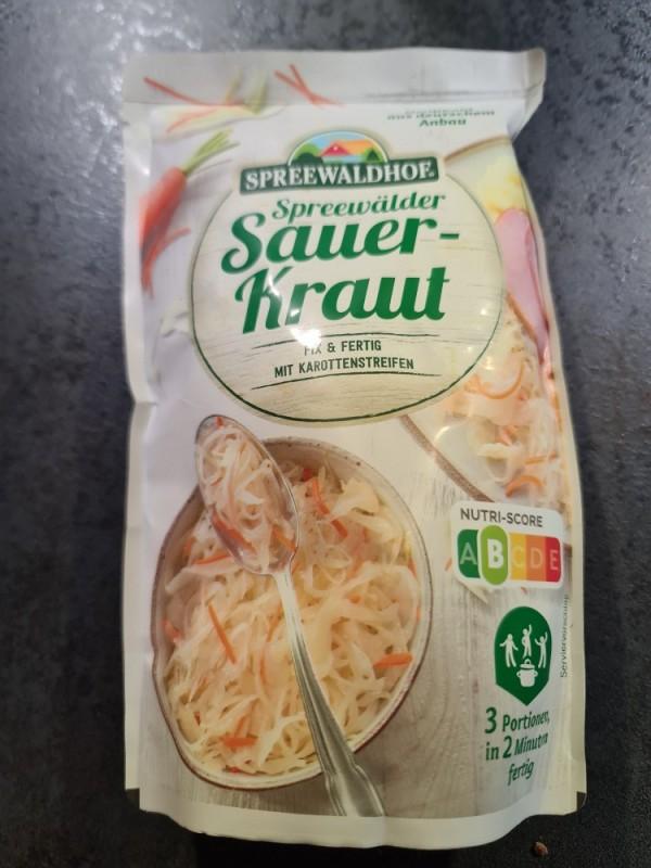 Spreewälder Sauerkraut, mit feinen Karottenstreifen von MarkusBeulich | Hochgeladen von: MarkusBeulich