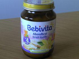 bebivita, abendbrei grieß-vanille   Hochgeladen von: daroganadir